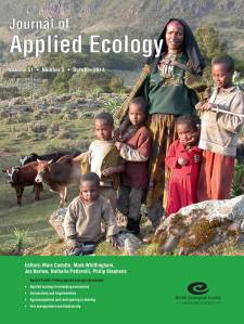 Our latest issue cover features a pastoralist family in Bale Mountains, Ethiopia. Fire-managed heathlands are seen in the background. Traditional use of fire is often blamed for destroying the resource base and threatening biodiversity, but here grazing and burning maintains a mosaic heathland landscape, which reduces the risk of landscape-wide wildfires. Photo: Anders Granström From the paper by Johansson & Granström http://onlinelibrary.wiley.com/doi/10.1111/1365-2664.12291/abstract