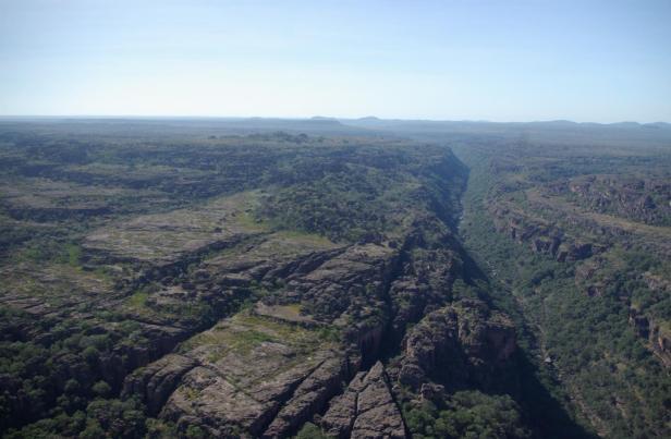 The rugged Arnhem Plateau in northern Australia. (Photo: Clay Trauernicht)