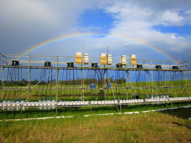 The ExStream System in New Zealand, an innovative field research facility offering strict control of experimental variables, excellent statistical power and a high degree of realism (e.g. permitting natural immigration and emigration of stream organisms). Two ExStream Systems have been established in New Zealand and Germany (since 2013), with a third planned for Japan in 2016.