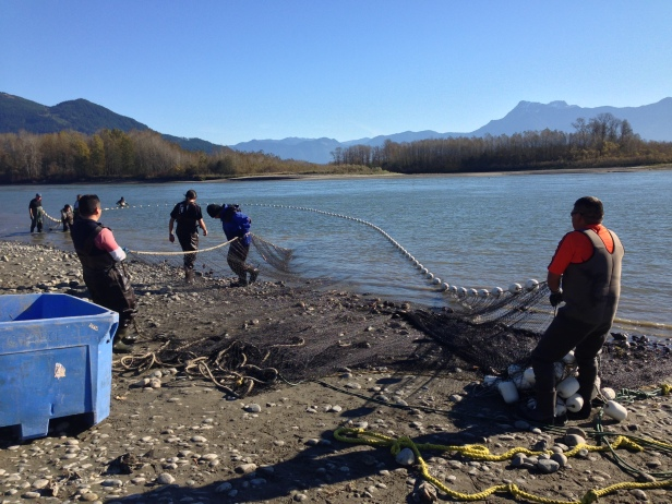 First Nations fishery
