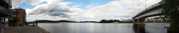 The view Jyväskylä, where ECCB 2018 took place. A fun conference, a nice city (image courtesy of Manuela Gonzalez-Suarez).