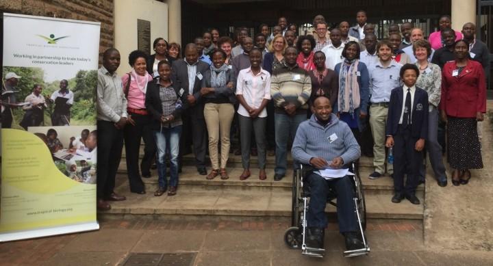 Workshop attendess - Tropical Biology Association